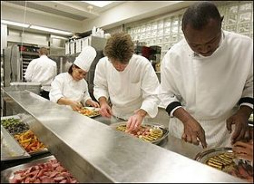 Do you have to go to school to become a sous chef?
