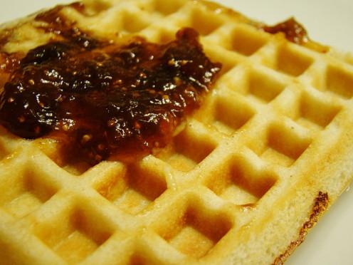 Tofu Waffle Sandwich