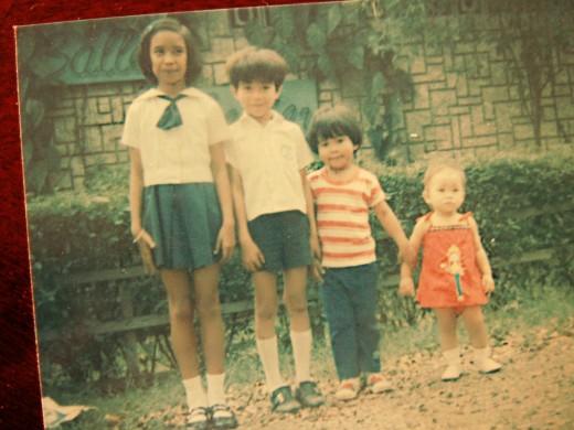 Me, Mark, Myles and Missy
