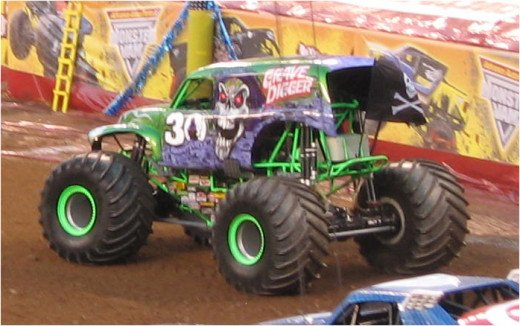 Monster Truck Jam with the classic Grave Digger and 31 other trucks!