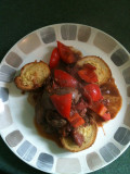 Iron-Rich Recipe For Women: Tomato Chicken Livers With Healthy Garlic Bread
