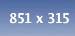 Facebook timeline cover size