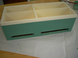Painted Cabinet is Dry and Ready for Next Step