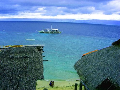 Beach of Moalboal, Cebu, Philippines