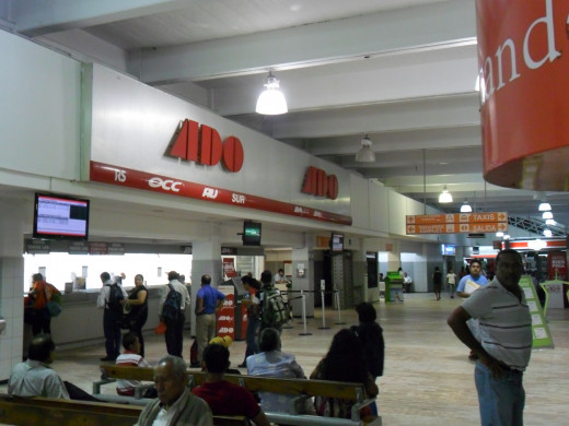 ADO Bus Station, Coatzacoalcos, Veracruz, Mexico