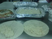 Making the chalupas