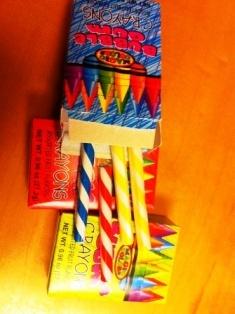 """Bubble Gum """"Crayons"""""""