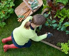 Gardening is a great way to escape!