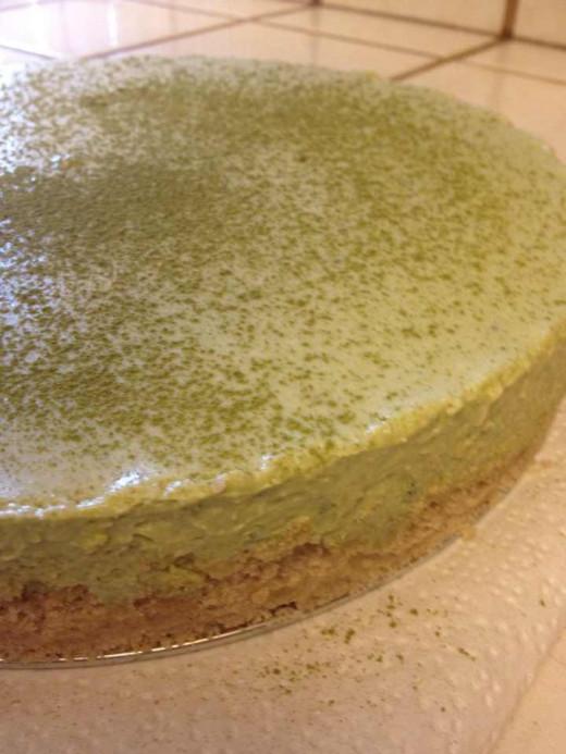 Matcha White Chocolate Cheesecake