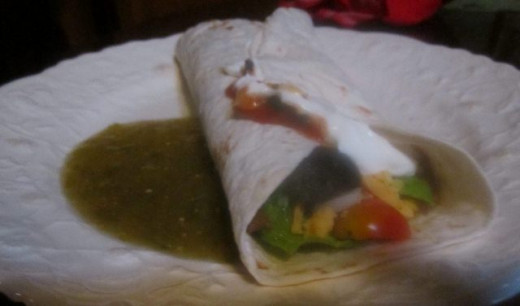 Tortilla Wrap option
