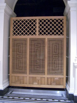 Using Outdoor Lattice as a Privacy Screen or Fence