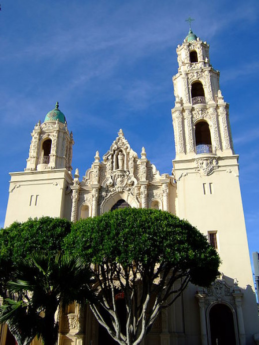 The basilica of Mission Dolores