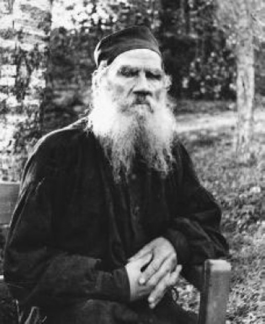 Leo Tolstoy, perhaps the coolest looking writer of all time