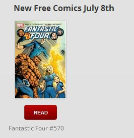Free Comics from Marvel