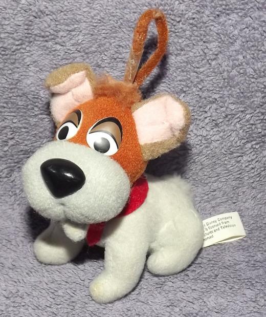 Dodger the Dog Ornament