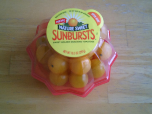 Sunburst Yellow Tomatoes