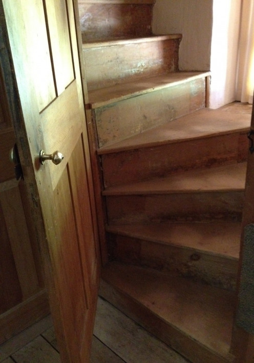 Historic homes can have narrow and winding staircases which can be difficult to navigate.