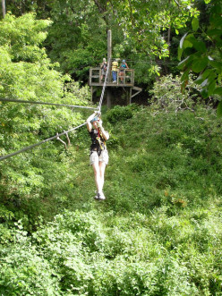 Zipline Adventure in Saint Lucia