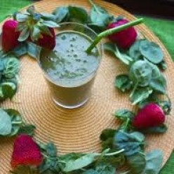 Delicious Smoothie Recipe; High Iron Spinach Juice Recipe