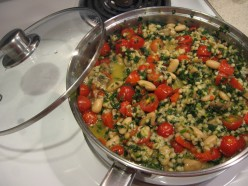 Vegetable Barley Skillet Casserole Recipe