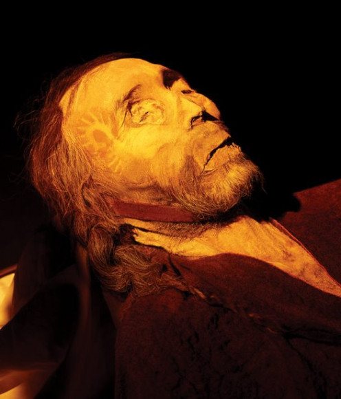 The Tarim Mummy known as Chärchän man, or Ur-David. He was very tall and red haired.