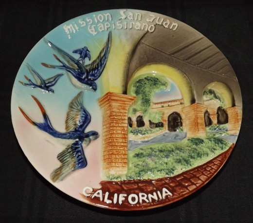 Vintage Collector Plate--Mission San Juan Capistrano