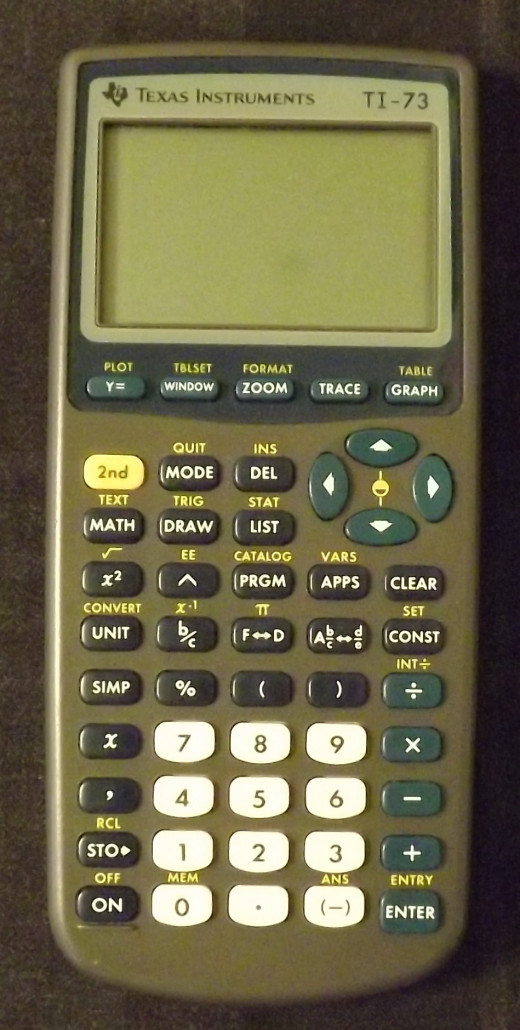 Texas Instruments TI73 Graphic Calculator