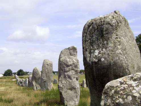 The Ménec Alignment, part of the Carnac Stones.