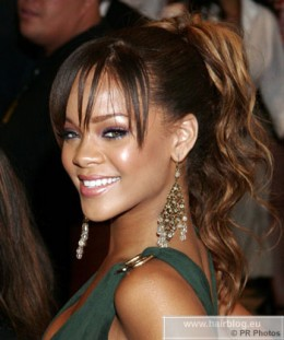 Rihanna 2005 at the Kodak theatre in Los Angleos