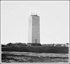 Washington Monument circa 1860