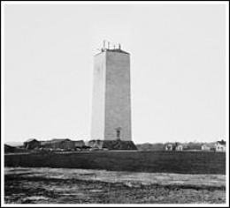 Washington Monument circa 1860