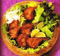 Tandoori Lamb Chops.