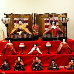 Japanese Dolls for Hina Matsuri