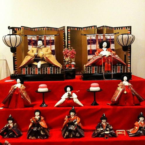 Japanese Dolls for Hina Matsuri