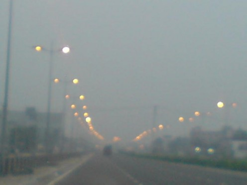 Pollution due to automobiles