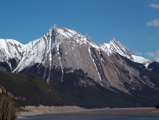 The Canadian Rocky Mountains are one of the most scenic places in the world and are designated as a UNESCO World Heritage Site