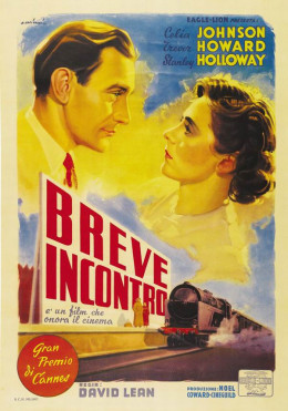 Brief Encounter (1945) Italian poster