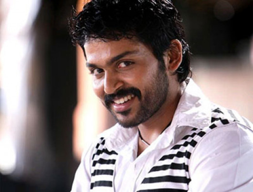 Karthi - actor to watch out for in Kollywood...