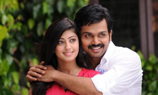 the lead pair in Saguni - Karthi and Pranita
