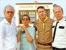 Bill Murray, Frances McDormand, Edward Norton, Buce Willis