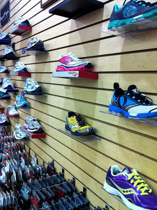 Choosing the right running shoe can be a daunting task