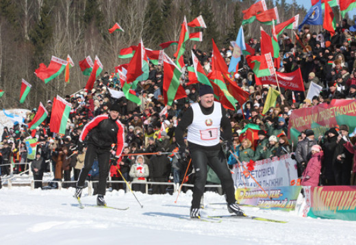 Sport in Belarus is a hobby number 1  since Lukashenko likes winter sports.