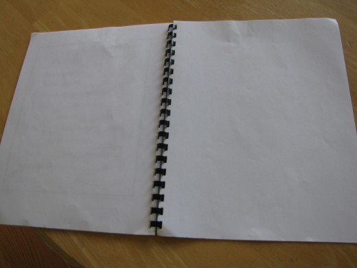 Some blank pages for coloring, notes, etc....