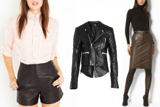 Leather - Top 10 Fall 2012 Trends