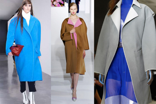 Oversized Coat - Top 10 Fall 2012 Trends