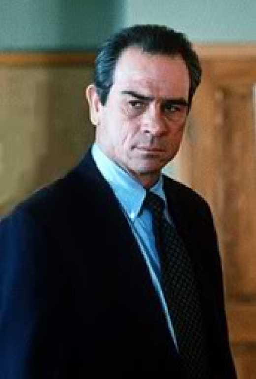 Tommy Lee Jones--Everyone Admires this Man, a Great Actor and Human Being.