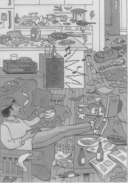 Toshiro's Room