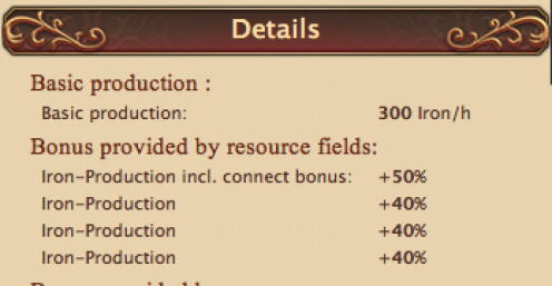 See how the number of adjacent resources stack the percentage bonus?