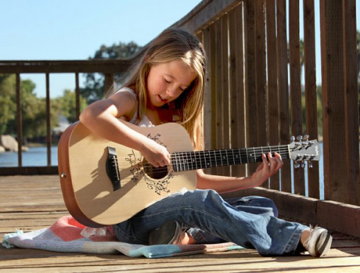 "The Baby Taylor guitar is excellent for children, but it is not ""just"" a child's guitar!"
