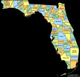 Each of Florida's 67 counties has a canvassing board that collects all the election totals throughout the county and sends those totals to the Florida Secretary of State who declares the winner of the election.